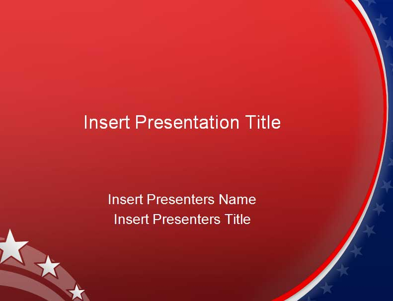 American Powerpoint Template